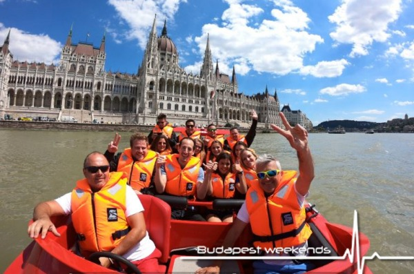 speed boat budapest