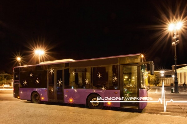 budapest party bus